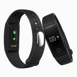 Pulseira Inteligente ID107 Smartband Bluetooth Monitor Cardíaco