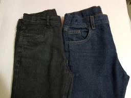 2 Calças Jeans Infantis (10 anos)