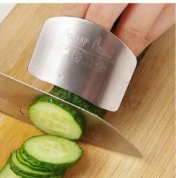 Protetor de Dedos cortar/fatiar legumes Cozinha