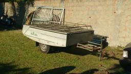 Carretinha reboque camping