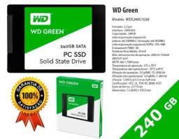 Ssd Wd 240gb - Green - Novo Pronta Entrega