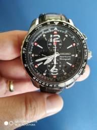 75213eb0156 Relógio Seiko - Sportura Cronograph - Original - Garantia + Nota Fiscal