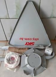 Antena da Sky nunca usado