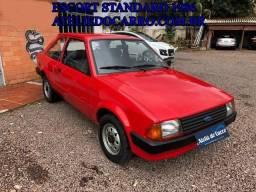 Ford Escort Standard 1986 - Todo Original com Placa Preta - Raríssimo - Ateliê do Carro - 1986