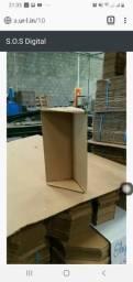 Cantoneira de papelão pra cama box