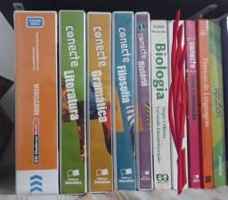Livros do ensino médio. Diversos.