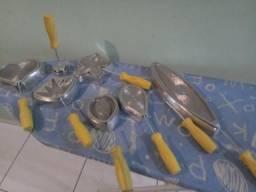 Kit frisadores em alumínio para E.V.A