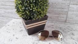 Imperdível!! Óculos de sol Aviador feminino ChilliBeans original