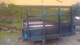 Carroceria de 6 mts madeira
