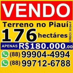 176 hectares a venda