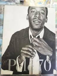Livro Original com História e Fotografias PELÉ 70