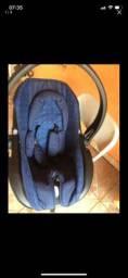 Bebê conforto COSCO azul marinho. Pouco usado. 100 reais