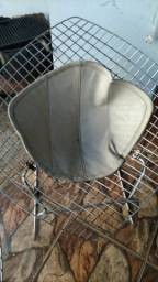 Cadeira aramado cromada