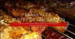 Buffet de Churrasco + Open Bar completo