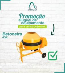 Betoneira 400L Monofásica Promoção