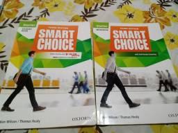 Livros Smart Choice - Student Book e WorkBook