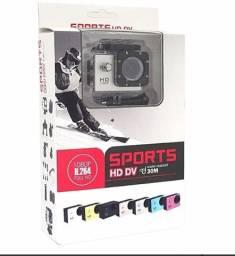 Mini Câmera Filmadora Sports Hd Dv 1080p H264 Full Hd Wi-fi