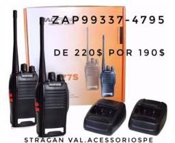 Radio amador promoção 180$ o kit ler a descrição!!!