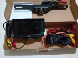 Kit de câmera de ré e monitor de estacionamento