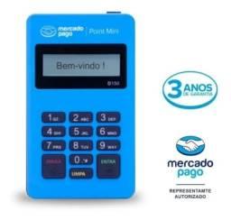 Maquininha de Cartão - Point Mini do Mercado Pago (nova)