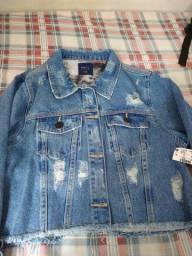 Jaqueta jeans nova M