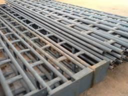 Vendo estrutura metálica nova e reforçada para galpão de 720 m/2, nova