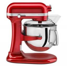Batedeira Planetária Kitchenaid Stand Mixer Pro 600 Vermelha