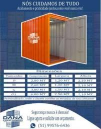 Container ideal para deposito jardim obra