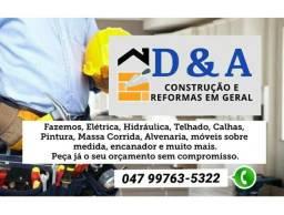 Reformas e construção