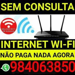 Internet Internet de fibra com roteador