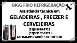 Conserto geladeira, freezer, balcão refrigerado