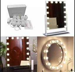 Kit Luz LED para Espelho Camarim / Penteadeira