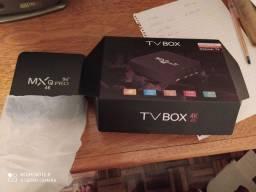 Tv box Mx q Pro 5g