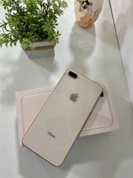 iPhone 8Plus 64GB Gold (Impecável)