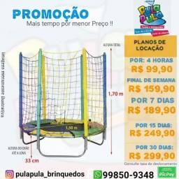 Título do anúncio: Aluguel - Pula Pula + Escorregadores + piscina de bolinhas - Promoção