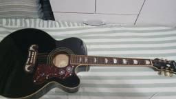 Violão Epiphone EJ200 BK
