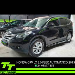 Honda CRV Lx 2.0 Flex Automático GNV 5ªGer. Impecável 2013