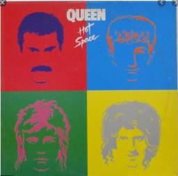 LP Vinil Queen - Hot Space 1981