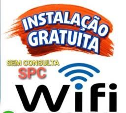 Seu wifi plus com instalação grátis e imediata, pagamento após 40 dias, sem consulta