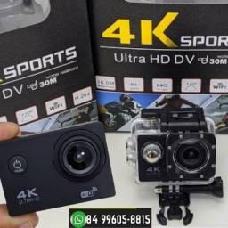 Câmera Action Go Cam Ultra 4k Sport Wifi