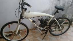 Bicicleta motorizada toda em aluminio