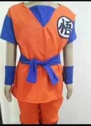 Fantasia Goku Dragon ball z infantil