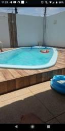 Título do anúncio: Casa com piscina Aruana 250 a diária