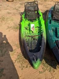 Título do anúncio: Caiaque combat brudden náutica semi novo