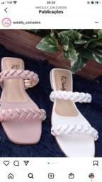 Sandálias Rasteiras Trançada 59,99