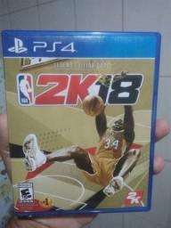 Jogo de basquete NBA 2K18 PARA PS4