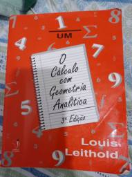 Livro Calculo Com Geometria Analitica Louis Leithold 3°ED.