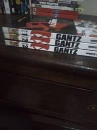 Gant volume 1 2 3 vendo ou troco por quadrinhos mangas ou livros