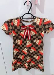 Lindo vestido usado 1x