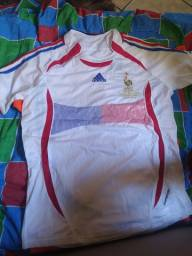 Camisas retrô França 2006 real Madrid 2005